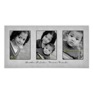 Trio 10x20 Photo Template Print