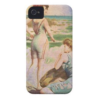 TRIO AT THE BEACH iPhone 4 Case-Mate CASE