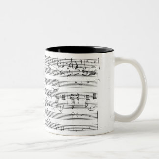 Trio, in E flat major 'Kegelstatt' Two-Tone Coffee Mug
