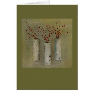 Trio of Berries card