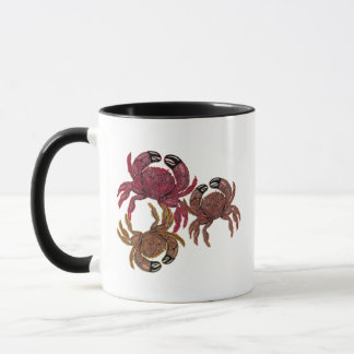 Trio of Dungeness Crabs Mug