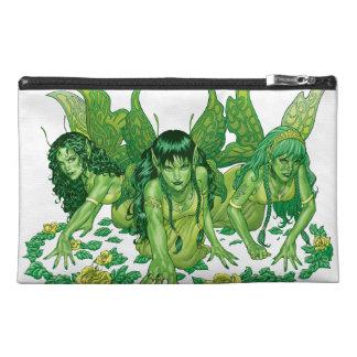 Trio of Earth Fairies or Elves by Al Rio Travel Accessory Bag