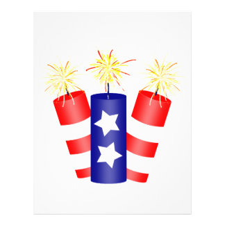 Trio of Firecrackers for the 4th of July Flyer