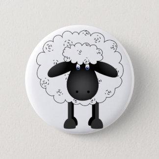 Trio Of Sheep 2 Inch Round Button
