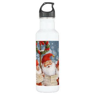 Trio of Singing Elves 710 Ml Water Bottle