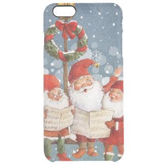 Trio of Singing Elves Clear iPhone 6 Plus Case