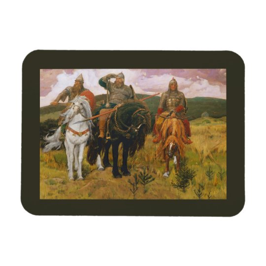 Trio of Viking Scouts Magnet