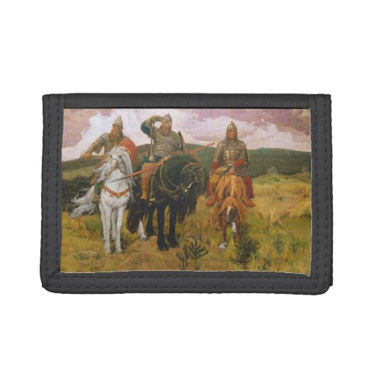 Trio of Viking Scouts Tri-fold Wallets