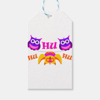 Triolium - owl party pack of gift tags