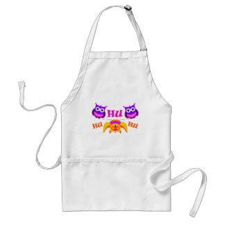 Triolium - owl party standard apron