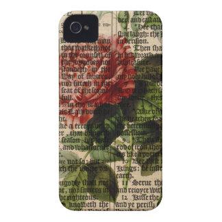 Triomphe de Valenciennes Flower Case-Mate iPhone 4 Cases
