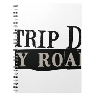 Trip Down Abbey Road Spiral Note Book