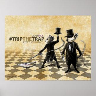 Trip The Trap - Bassmice Poster