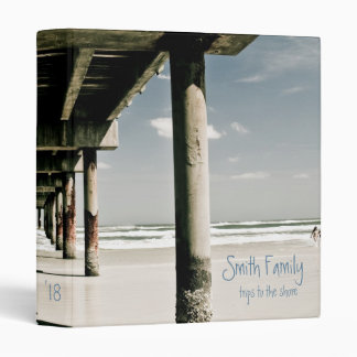 Trip to the Shore Family Memory Album Binder