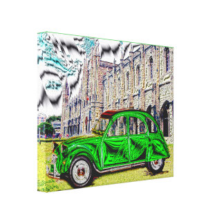 TRIP TON of LISBON - Artwork, composite Canvas Print