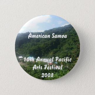 triparoundtown 100, American Samoa10th Annual P... 2 Inch Round Button