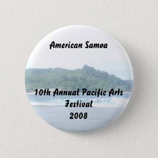 triparoundtown 130, American Samoa10th Annual P... 2 Inch Round Button