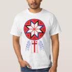 Tripartite Mi'Kmaq Forum Symbol and Flag T-Shirt