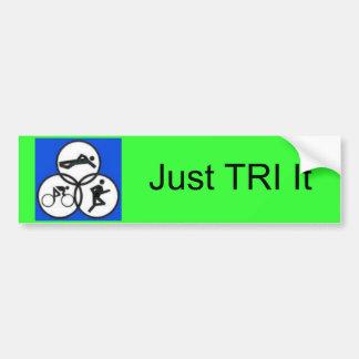 tripic1, juste TRI il Autocollant De Voiture