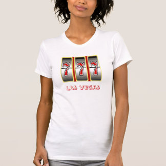 Triple 777 Las Vegas Fun Ladies Casual Scoop T-Shirt