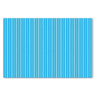 Triple Blue Striped Tissue Paper