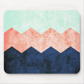 triple chevron mouse pad