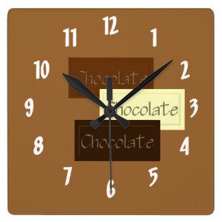 Triple Chocolate Clock