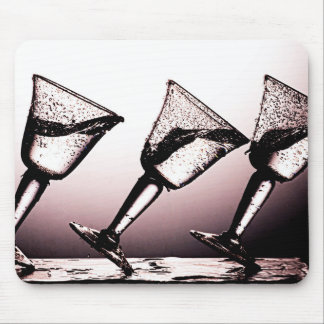 Triple Cocktail Spill 3 Mouse Pads