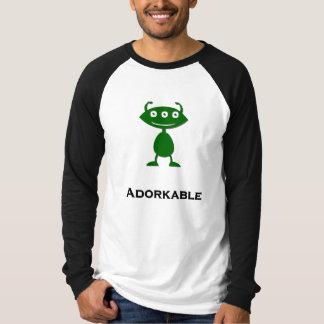 Triple Eye Adorkable green T-Shirt