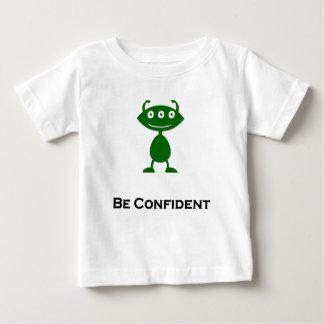 Triple Eye Be Confident green Baby T-Shirt