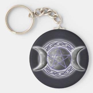 Triple Goddess 2 Keychain