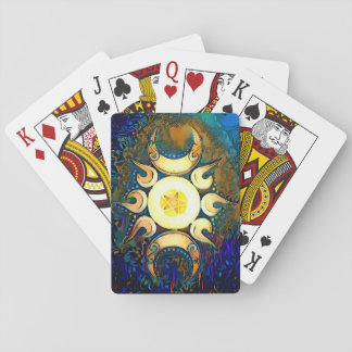 Triple Goddess Crowned Poker Deck