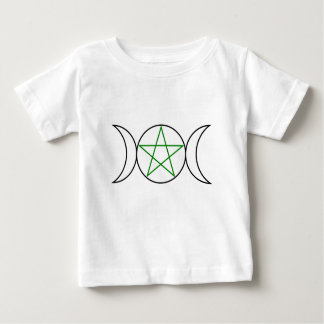 Triple-Goddess-Pentagram Baby T-Shirt