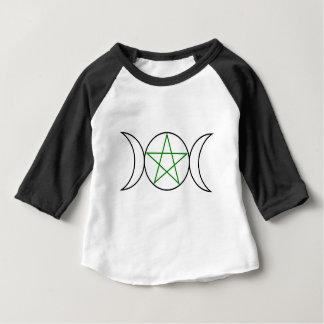 Triple-Goddess-Pentagram Baby T-Shirt