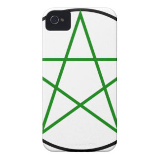 Triple-Goddess-Pentagram iPhone 4 Case-Mate Case