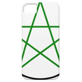 Triple-Goddess-Pentagram iPhone 5 Covers