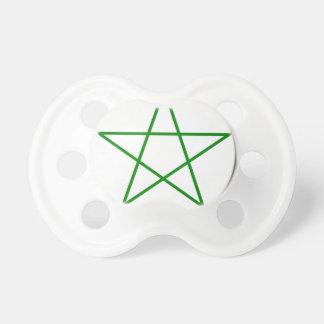 Triple-Goddess-Pentagram Pacifier