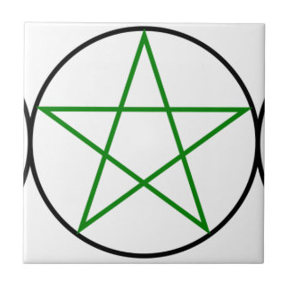 Triple-Goddess-Pentagram Tile