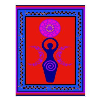 Triple Goddess Postcard