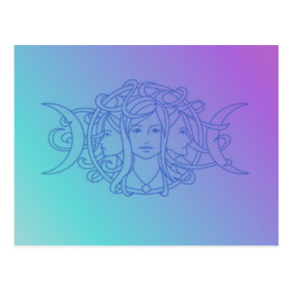 Triple Goddess Postcard