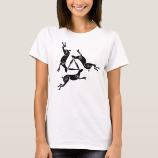 Triple Hare Triskele Ladies Light Tee