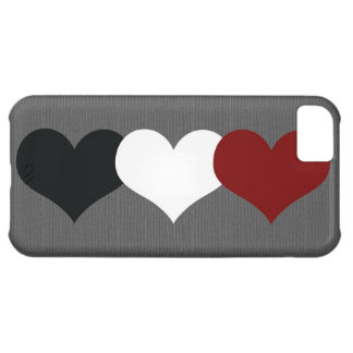 Triple Heart Case For iPhone 5C