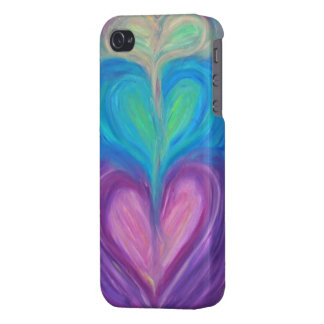 Triple Hearts iPhone 4 Case