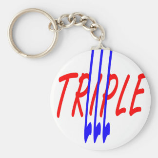 triple lll original.png basic round button keychain