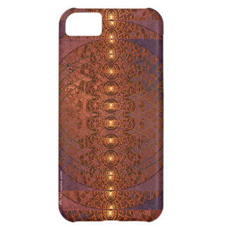 Triple Moon Fractal Art Cover For iPhone 5C