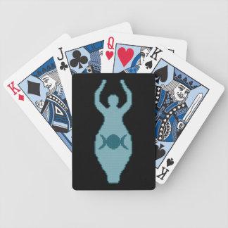 Triple Moon Goddess Playing Cards