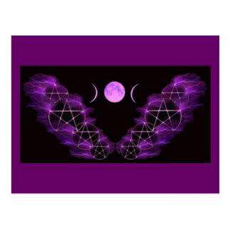 Triple Moon Postcard