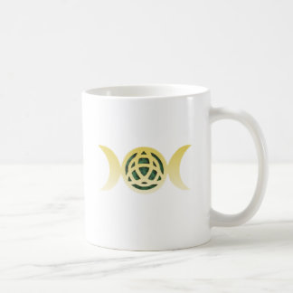 Triple Moon Triquetra Coffee Mug