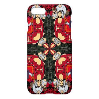 Triple Old Gangsta Warfare Mandala iPhone 8/7 Case