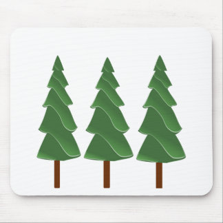 Triple Pines Mouse Pad
